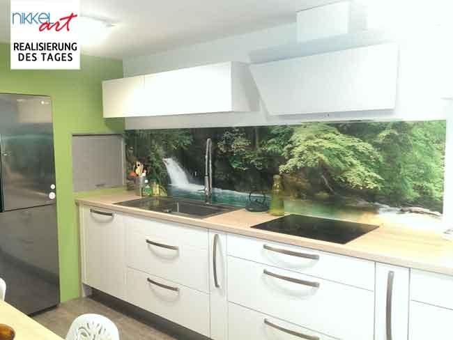 Küche fotorückwand nach Maß