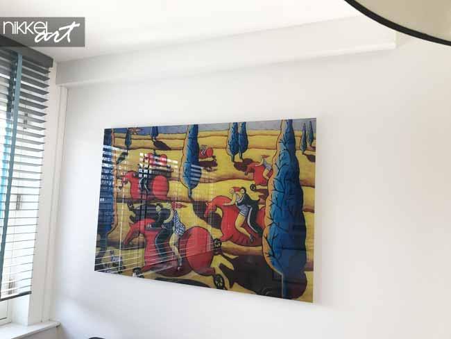 Plexiglas schilderijen